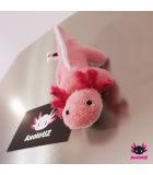 Axolotl magnet rosé-pink 15cm