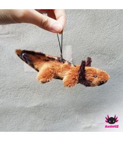 Axolotl pendant lightbrown