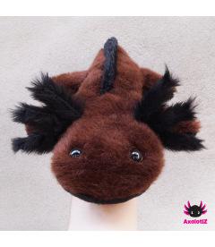 Axolotl Plush brown-black