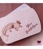 Axolotl breakfast board individual