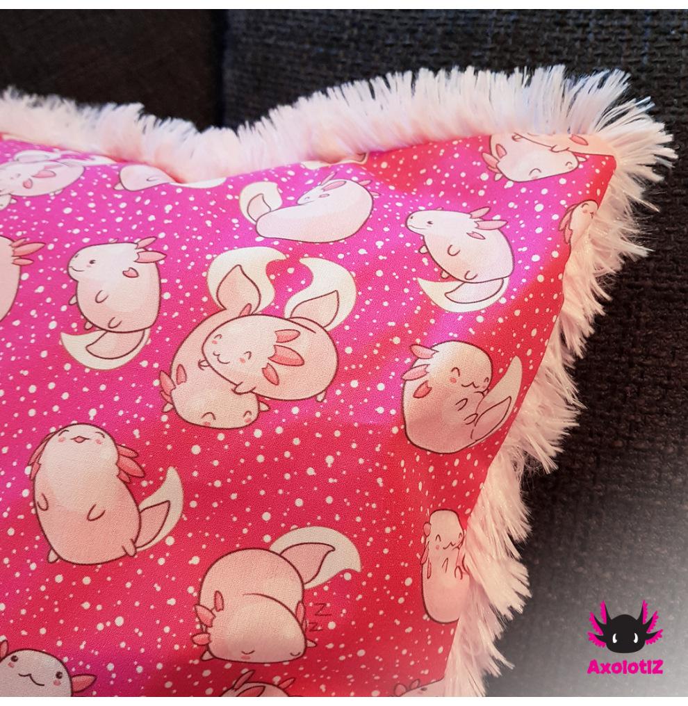 Pillow with Axolotl 3