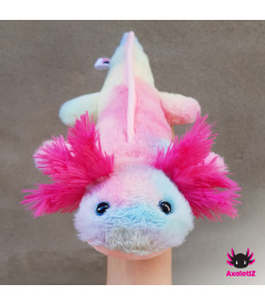 Axolotl - Rainbow pink gills