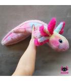 XL-Axolotl - Rainbow 80cm