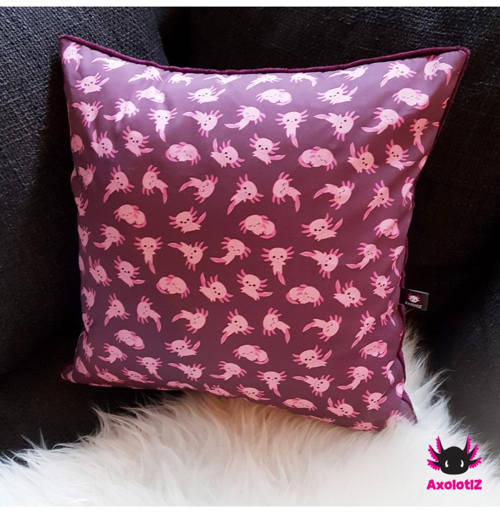 Pillow with Axolotl 5